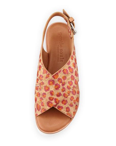 Kiki Flower Cork Comfort Sandal