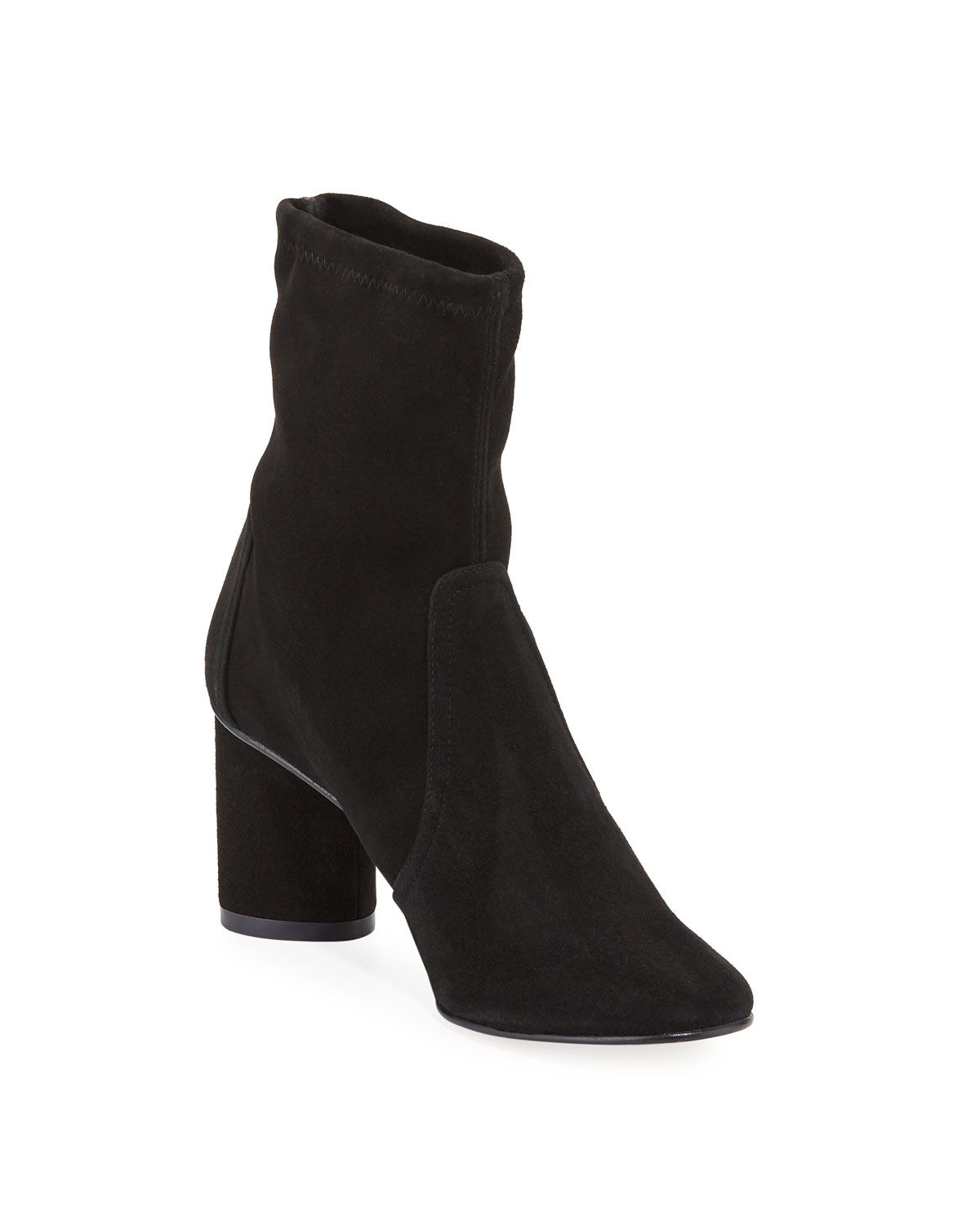 Margot Suede Pull On Booties by Stuart Weitzman