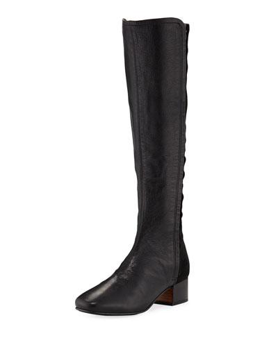 Ella-Setti Tall Mixed Knee Boots