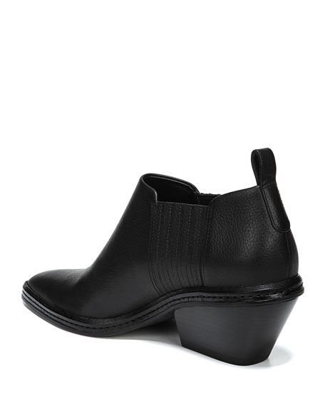 Farly Water-Resistant Block Heel Booties