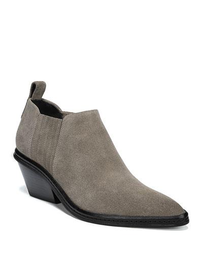 Farly Water-Resistant Block Heel