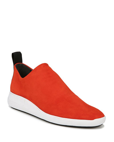 Marlow Stretch-Suede Sock Sneakers