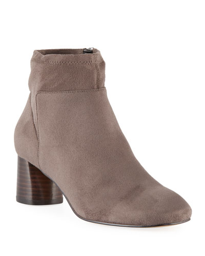 Cazzie Stretch Suede Booties