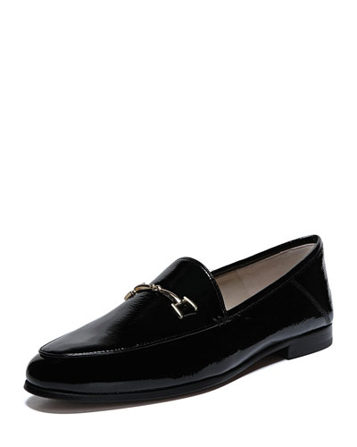 Loraine Horsebit Patent Loafers