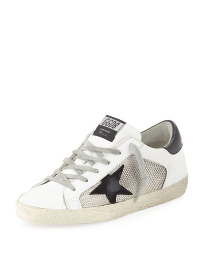 Superstar Mixed Platform Sneakers