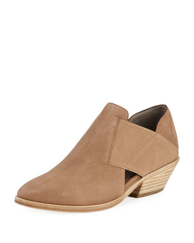 Perry Leather Ankle Booties