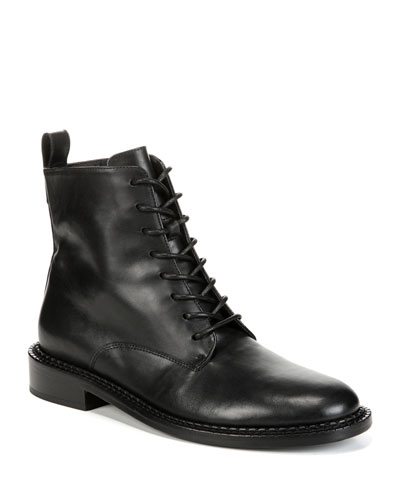 Cabria Leather Lace-Up Boots