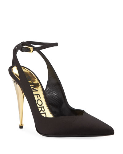 Pointed-Toe 105mm Pumps