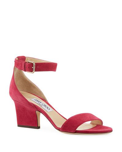 Edina 65 Suede Sandals