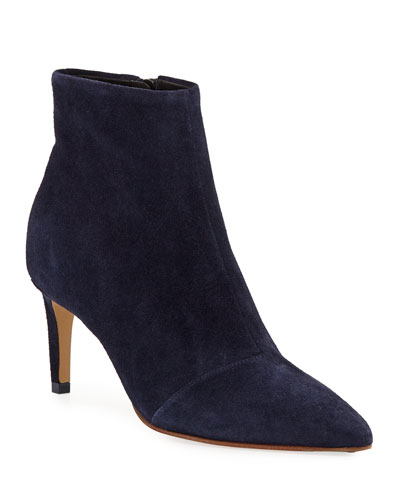 Beha Suede Ankle Booties