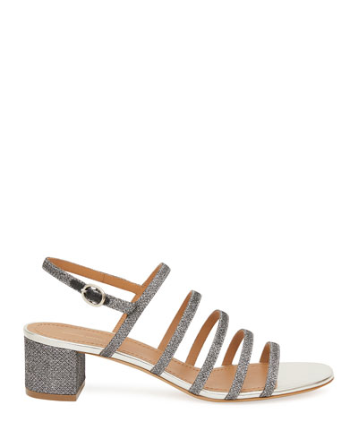 Glitter Strappy 40mm Sandals