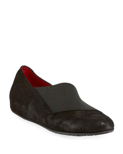 Ranny Comfort Low Wedge Slip-Ons