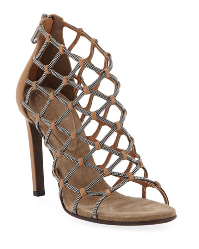 Monili Webbed Sandals