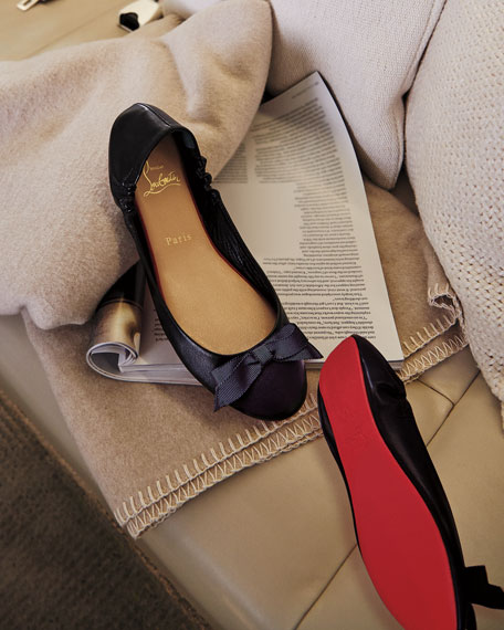 Christian Louboutin Air Loubi Red Sole Ballet Flats