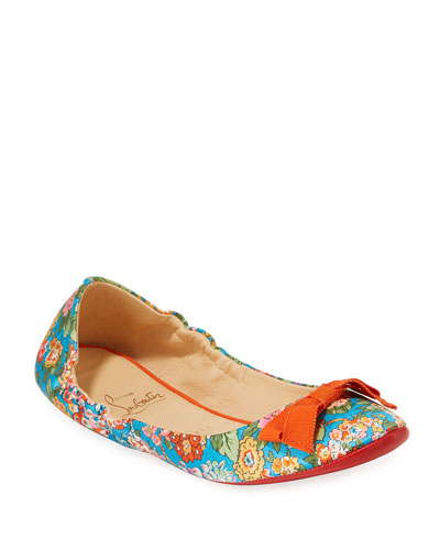 sports shoes e56fd 22eb5 Christian Louboutin Air Loubi Red Sole Ballet Flats from ...