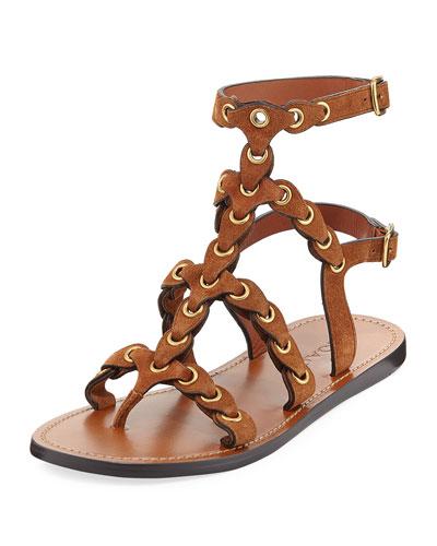 Link Gladiator Flat Sandals