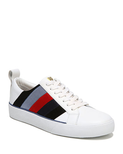 Tess Leather Platform Sneakers