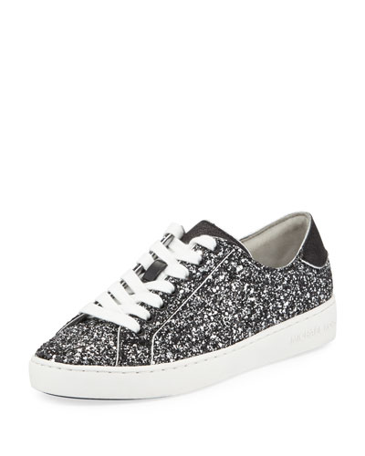 ef6e1a5280c MICHAEL Michael Kors Harper Glitter Lace-Up Sneakers