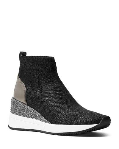 Skyler Knit Sneaker Booties
