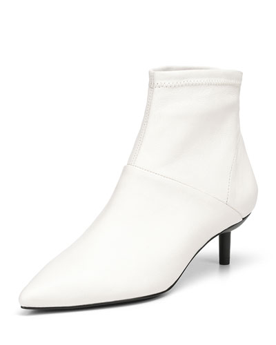 Bale Stretch Napa Leather Booties