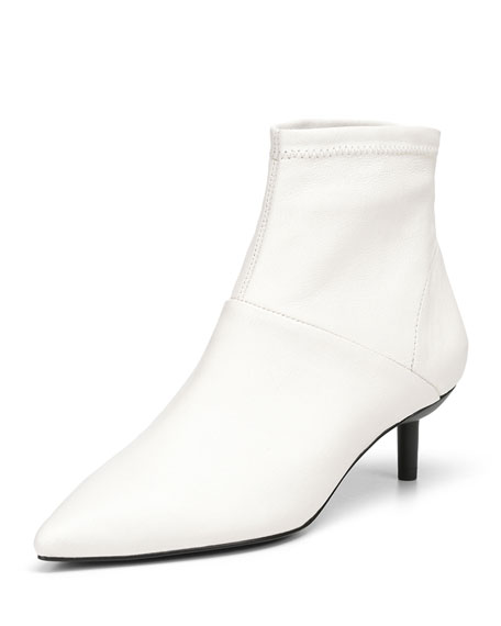 Donald J Pliner BALE STRETCH NAPA LEATHER BOOTIES