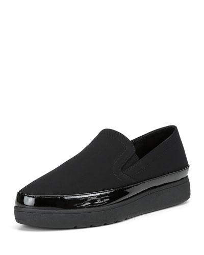 Mickey Platform Slip-On Sneakers