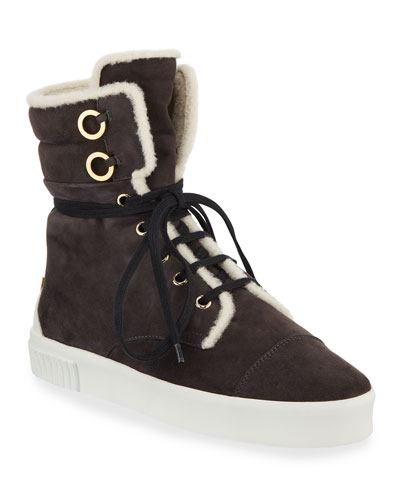 Morrissey Lace-Up Suede Sneakers