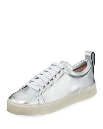 Adley Metallic Platform Sneakers