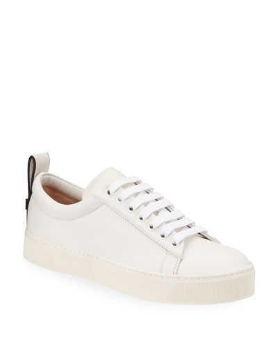 Adley Napa Leather Low-Top Sneakers