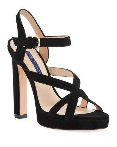 Cersei Platform Suede Sandals