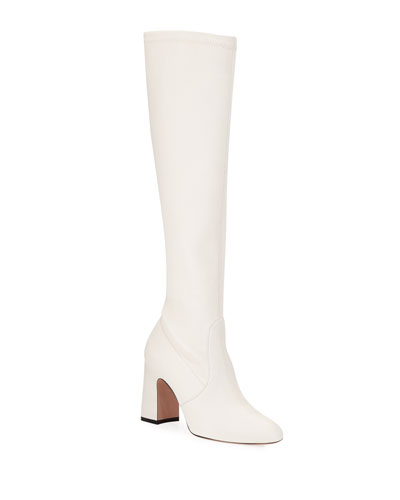 Milla Leather Knee Boots
