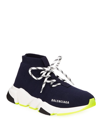 Speed Knit Neon Sneakers
