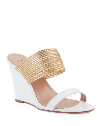 Rendez Vous Wedge Slide Sandals