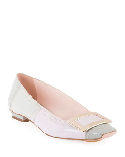 Belle Vivier Colorblock Pumps