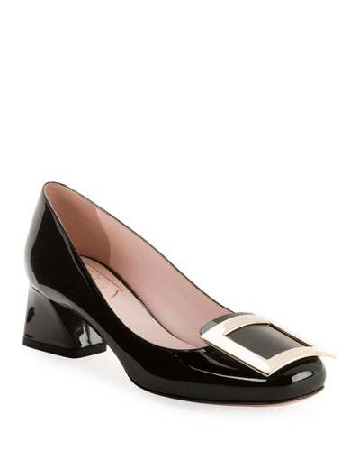 Belle de Jour Patent Buckle Pumps