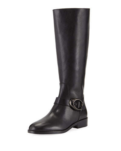 Brynn Buckle Knee Boots