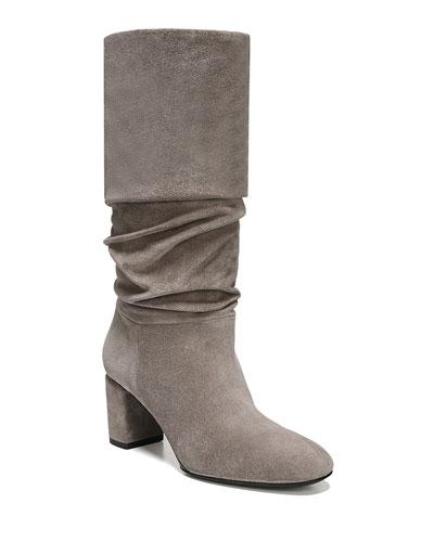 Naren Suede Scrunch Boots
