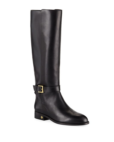 Brooke Leather Knee Boots