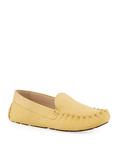 Evelyn Suede Moccasin Drivers