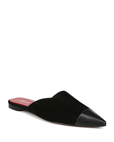 Love Flat Slide Mules