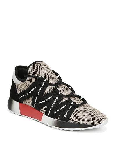 Pandora Mesh-Neoprene Sneakers