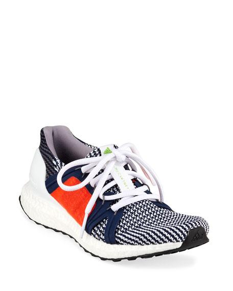 adidas by Stella McCartney UltraBoost Colorblock Knit Sneakers,