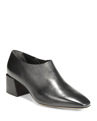 Delancy Leather Ankle Booties