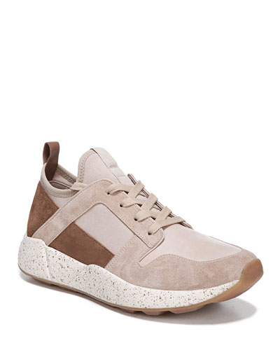 Galvin Suede/Leather Trainers