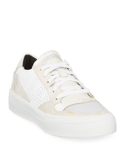 Spacelow Pearlized Low-Top Sneakers