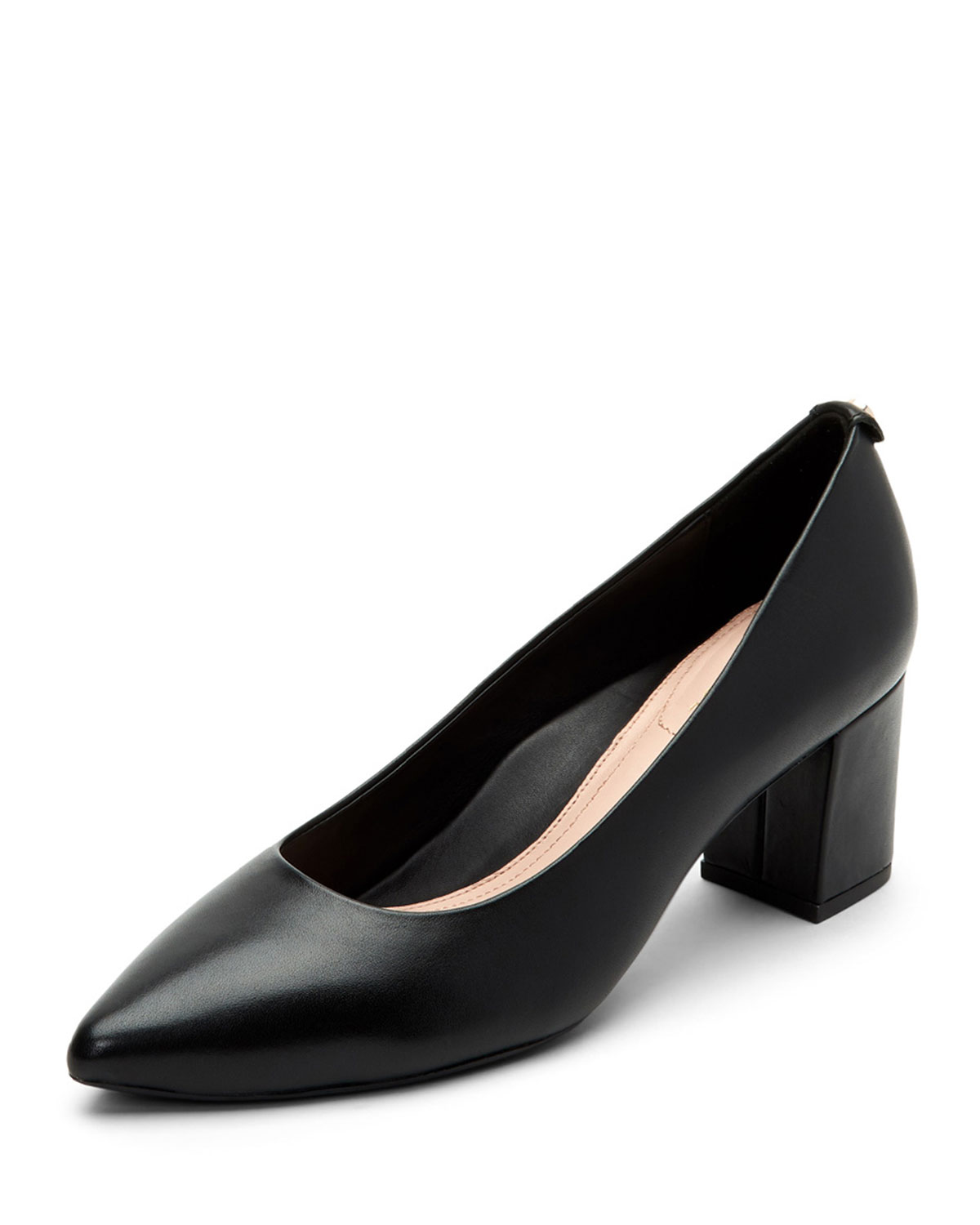 d6aead5df7118 Taryn Rose Madline Leather Pointed Pumps