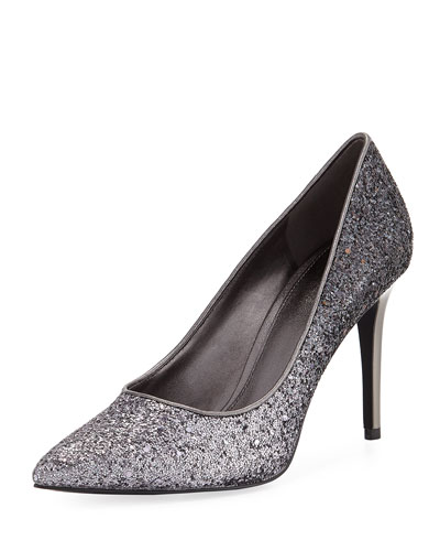 Claire Chunky Glitter Pumps