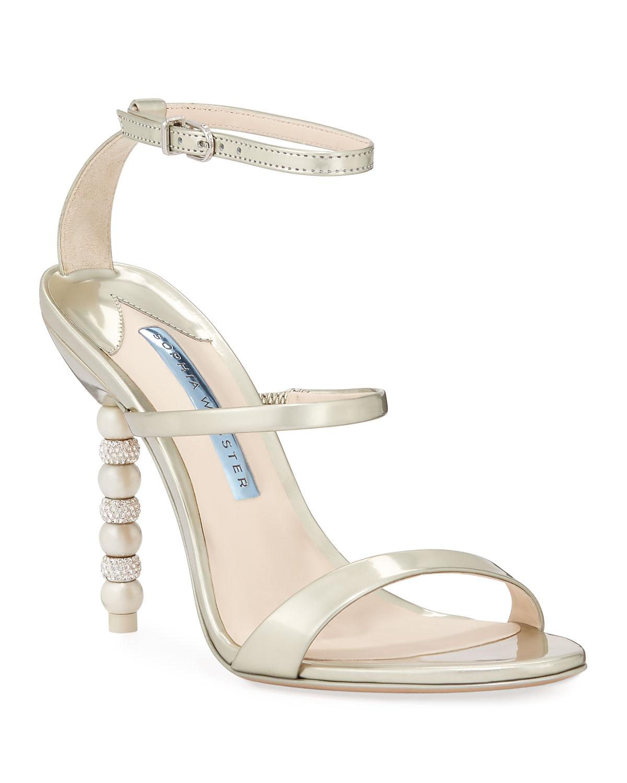 e7601e60d18 Sophia Webster Rosalind High-Heel Crystal Bridal Sandals