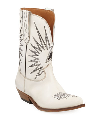 Wish Star Leather Western Boots