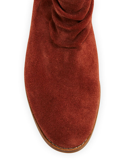 Cole Haan Alayna Slouchy Suede Booties